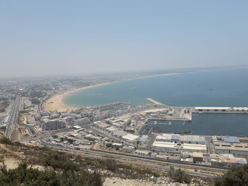 agadir airports travel from sweden to morocco