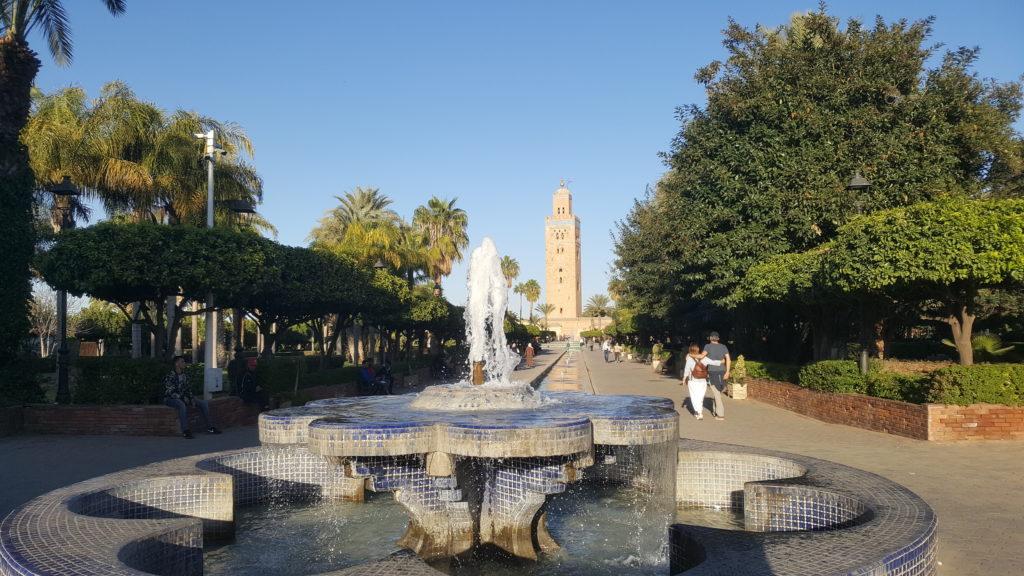 Marrakech Lalla Hasna jardines Unik Maroc Tours