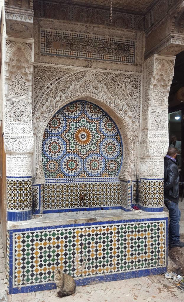 fuente Foundouk Nejjarine Fez  unikmaroctours