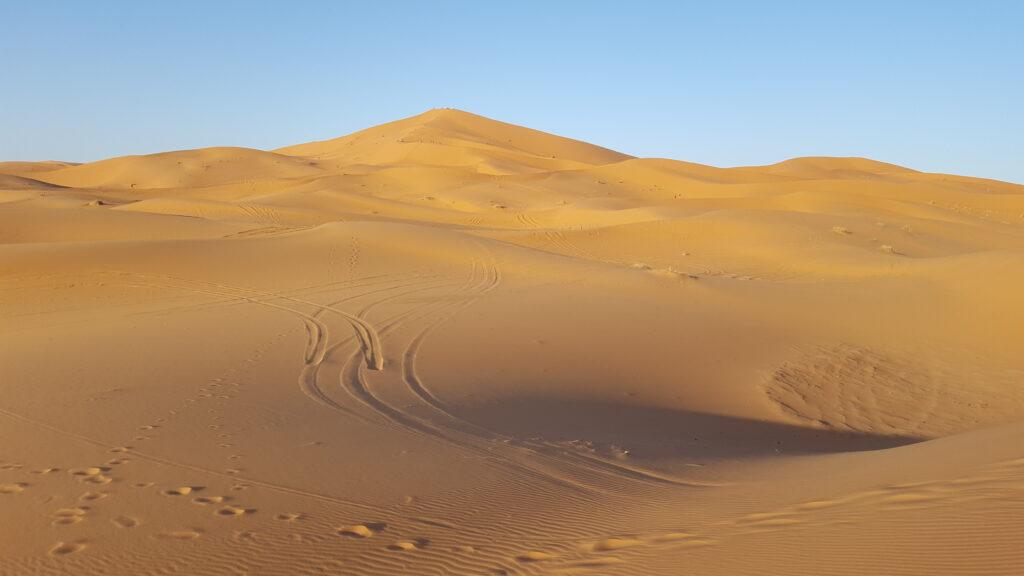 desiertos en marruecos erg chebbi merzouga