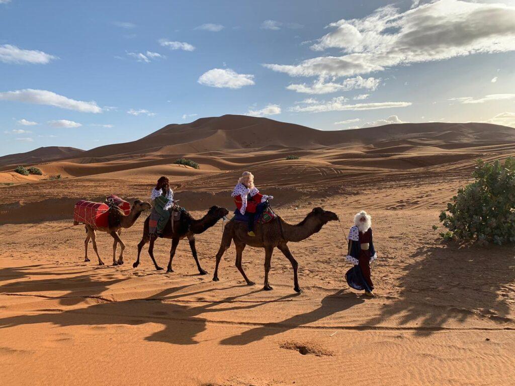 reyes magos desierto viajar a marruecos en diciembre unik maroc tours