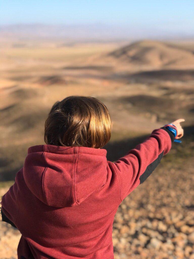 viajar con niños al desierto de Marruecos
