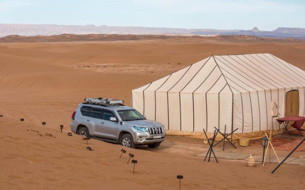 desiertos en Marruecos