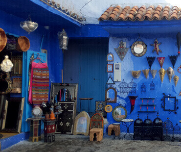 The star with a blue pearl (excursions from Chefchaouen)