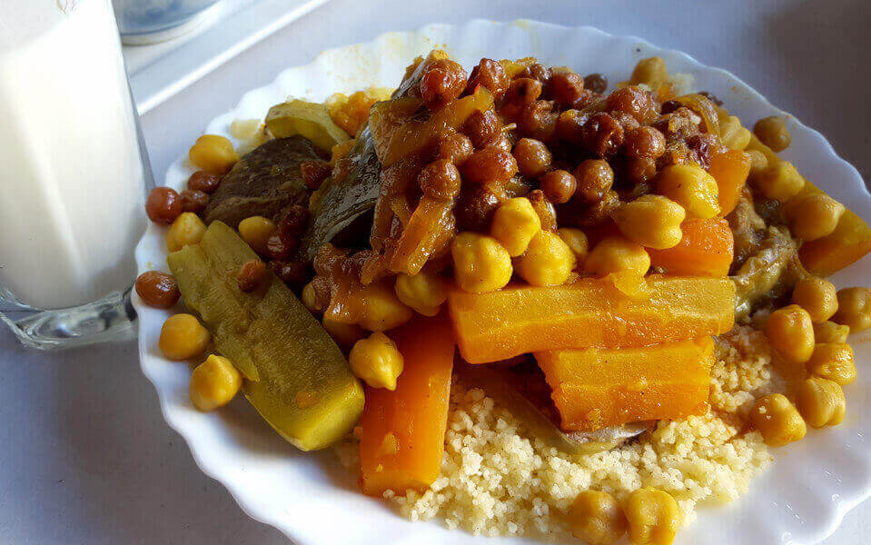 cuscus moroccan gastronomy